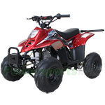 "Fully Assembled and Tested! X-PRO Bolt 110cc ATV with Automatic Transmission, Electric Start, 6"" Tires! Remote Control!"