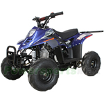 "X-PRO Bolt 110cc ATV with Automatic Transmission, Electric Start, 6"" Tires! Remote Control!"