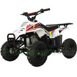 X-PRO Bolt 110cc ATV with Automatic Transmission, with Remote Control! LED Tail Light! Rear Rack!
