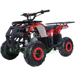 "X-PRO Eagle 125cc ATV with Automatic Transmission w/Reverse, Remote Control, LED Head and Tail Lights! Big 16"" Tires!"