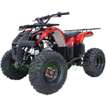 "X-PRO Hawk 125cc ATV with Automatic Transmission w/Reverse, Electric Start, Remote Control, LED Tail Light! Big 19""/18"" Tires!"