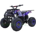 "X-PRO Hawk 125cc ATV with Automatic Transmission w/Reverse, Electric Start, Remote Control, LED Head and Tail Light! Big 19""/18"" Tires!"