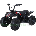 "X-PRO 350W 24V Electric Kids ATV with Reverse, LCD Monitor and Selectable Speed Control, 6"" Tires! Chain Drive, 15km Mileage! With Free Tire Pump!"