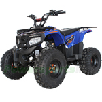 "X-PRO Leopard 125cc ATV with Automatic Transmission w/Reverse, Electric Start, Remote Control, Big 19""/18"" Tires! LED Lights!"