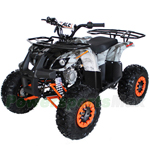 "ATV-H17 125cc ATV with Automatic Transmission w/Reverse, Electric Start, Remote Control, LED Tail Light! Big 19""/18"" Tires!"