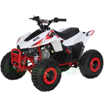 "ATV-H18 110cc ATV with Semi-Automatic Transmission w/Reverse, Remote Control, LED Tail Light, Big 16"" Wheels!"