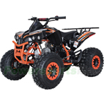 "X-PRO Storm 125cc ATV with Automatic Transmission w/Reverse, Remote Control, LED Head and Tail Lights! Big 19""/18"" Tires!"