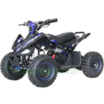 "X-PRO Jaguar 1000W 36V Electric ATV with Reverse,  LCD Monitor! 6"" Tires! Electric Start! With Free Tire Pump!"