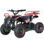 "X-PRO Panther 1000W 36V Electric ATV with Reverse! LCD Monitor! 6"" Tires! Electric Start! With Free Tire Pump!"