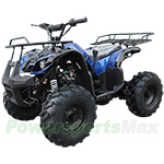 "ATV-X10 125cc Utility ATV with Automatic Transmission w/Reverse, Foot Brake, Remote Control! Big 19"" Tires!"