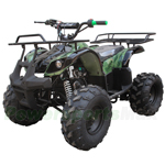 "ATV-J022 125cc Utility ATV with Automatic Transmission w/Reverse, Foot Brake, Remote Control! Big 19""/18"" Tires!"