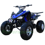 "Coolster ATV-3175S Adult Full Size ATV with Automatic Transmission w/Reverse, Electric Start! Big 23""/22"" Aluminum Tires!"