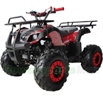 "X-PRO 125cc ATV with Automatic Transmission w/Reverse, LED Headlights, Remote Control! Big 19""/18""Tires!"