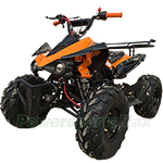 "ATV-P004 125cc ATV with Fully Automatic Transmission w/Reverse, Hand and Foot Brake, Remote Stop! Big 19""/18"" Tires!"