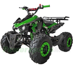 "X-PRO 125cc ATV with Automatic Transmission w/Reverse, LED Headlights, Big 19""/18"" Tires!"