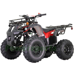 "ATV-T040 T125 ATV with Automatic Transmission w/Reverse, LED Headlights, Big 19""/18"" Tires!"