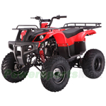 "ATV-T041 150cc Utility Full Size ATV with Automatic Transmission w/Reverse, Big 23""/22"" Tires!"