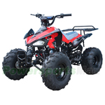 "ATV-T042 110cc ATV with Automatic Transmission w/Reverse, Foot Brake! Remote Control! Big 19""/18"" Wheels!"