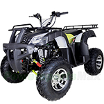 "ATV-T058 200cc ATV with Automatic Transmission w/Reverse, LED Headlights! Big 23""/22"" Tires w/Alloy Rim!"