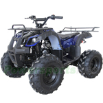 "ATV-W021 125cc Kodiar Utility ATV with Automatic Transmission w/Reverse, Remote Control! Big 19""/18""Tires! Big LED Headlights!"