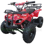 "ATV-Z01 Kids ATV with Chain Transmission, Pull start! Disc Brake! 6"" Tires! Powerful Engine!"