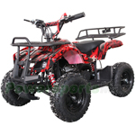 "X-PRO 40cc Kids ATV with Chain Transmission, Pull start! Disc Brake! 6"" Tires!"