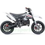 "2019 SSR SX50-A 50cc Dirt Bike with Automatic Transmission! 10""/10"" Black Alloy Wheels! Pull Start! Free Shipping!"