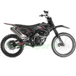 "Apollo DB-36 250cc Dirt Bike with 5 Speed Manual Transmission, Big 21""/18"" Wheels!"