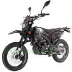 "Apollo DB-36 250cc Deluxe DOT Street Legal Dirt Bike with 5-Speed Manual Transmission! Electric/Kick Start, Big 17"" Tires!"