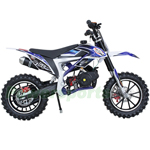 "X-PRO Bolt 50cc Dirt Bike with Automatic Transmission! 10"" Wheels! Pull Start, Chain Drive! Disc Brakes!"