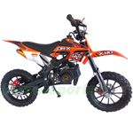 "DB-Q005 50cc Dirt Bike with Automatic Transmission! 10"" Alloy Wheels! with Kill Tether, Pull Start, Disc Brakes!"