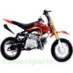 DB-X24 Coolster 110cc Dirt Bike with Fully Automatic Transmission, Only Bike with Electric Start!