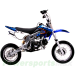 "DB-J014  Coolster 125cc Dirt Bike with 4-Speed Manual Clutch and Kick Start! 14""/12"" Wheels!"