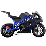 DB-L002 40cc Gas Pocket Bike With Chain Drive! Pull Start! Angle Adjustable Handlebars!