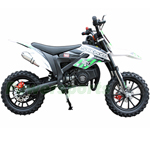 "Holeshot-X 50cc Dirt Bike with Automatic Transmission! 10"" Alloy Wheels! with Kill Tether, Pull Start, Disc Brakes!"