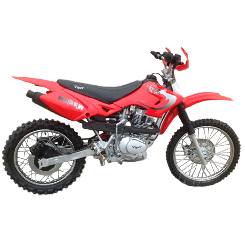 "DB-W001 Viper 150cc Dirt Bike with Manual Clutch Transmission and Kick Start! Chain Drive! 19""/16"" Wheels! Free Shipping!"