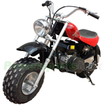 "Falcon 200cc Mini Bike with Automatic Transmission and Recoil Start! 19"" Wide Fat Balanced Tires!"