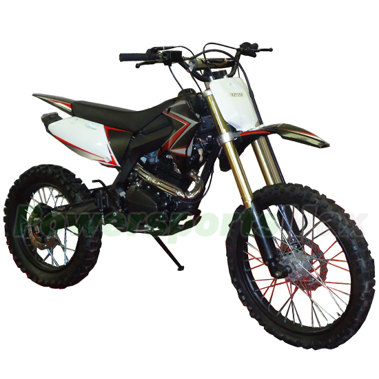 HX 250 Dirt Bike with Manual Transmission and Kick Start