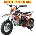 DB-X31 X-PRO<sup>®</sup> 110cc PitBike with Semi-Automatic Transmission, YinXiang Brand Engine,  High quality!