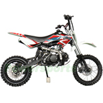 "X-PRO Bolt 125cc Dirt Bike with 4-speed Semi-Automatic Transmission, Kick Start! 14""/12"" Tires! Zongshen Brand Engine!"