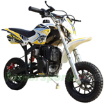 X-PRO Cyclone 40cc Kids Mini Dirt Bike With Hand Pull Start! Chain Drive, Disc Brakes!