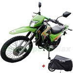 "X-PRO 2020 Version Hawk 250 Dirt Bike with 5-speed Manual Transmission and Electric/kick Start! Big 21""/18"" Wheels with free X-PRO Cover! Free Shipping!"