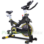 Exercise Bike Indoor Cycling Bicycle, Stationary Exercise LCD Display Bicycle, Heart Pulse Trainer Bike Bottle Holder! Free Shipping!