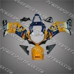 Suzuki GSX R600 2001-2003 ABS Fairing Set, Free Shipping!
