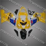 Suzuki GSX R600 2004-2005 ABS Fairing Set, Free Shipping!