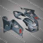 Suzuki 2004 2005 GSX-R 600 GSXR 750 K4 Fairing Plastics Set Injection Molding, Free Shipping!