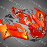 Injection Molded Fit CBR1000RR 04 05 All Orange Fairing 182A, Free Shipping!