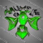 Fit CBR1000RR 08-11 Green Black ABS Fairing 18N37, Free Shipping!