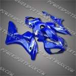 Injection Molded Fit CBR1000RR 06 07 All Blue Fairing ZN062, Free Shipping!