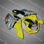 Fairing For 2001 2002 2003 Suzuki GSXR 600 750 K1 Plastics Set Injection Mold, Free Shipping!
